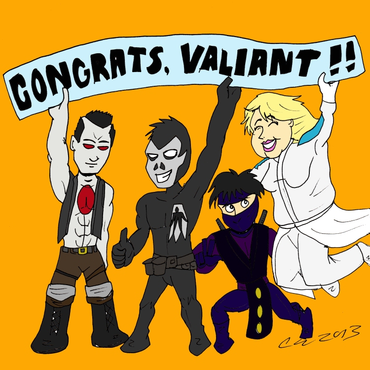 Valiant congrats