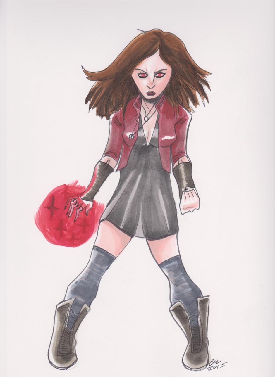Scarlet Witch color 001