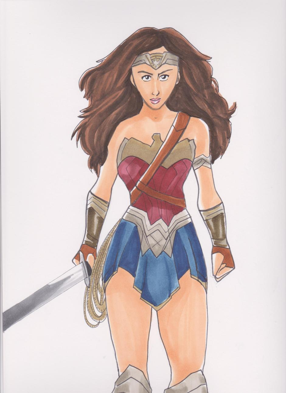 Wonder Woman color 001